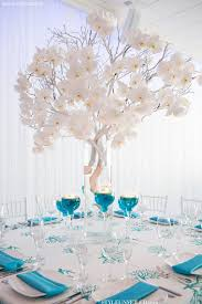 Silver Centerpieces For Table 25 Best Turquoise Centerpieces Ideas On Pinterest Teal Wedding