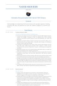 Research Analyst Sample Resume by Research Officer Resume Samples Visualcv Resume Samples Database