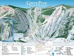 G Map Trail Maps Greek Peak Mountain Resort