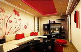 Stunning Interior Painting Of Living Room  For With Interior - Home painting ideas interior