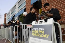 thanksgiving day sale early start hurts black friday sales cyber monday hits record