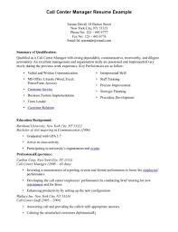 Resume Sample Format Call Center Agent  u     BNZY
