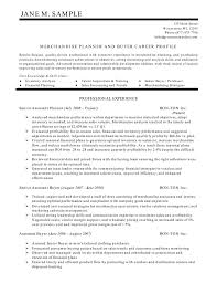 Sample Of Resume Skills And Abilities by Planner And Buyer Resume