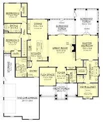 one story open floor plans with 4 bedrooms generous one story