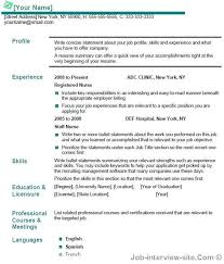 Example Of Resume No Experience by Astounding Best Resume Title For Freshers 50 On Example Of Resume