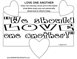 love one another u201d sunday lesson 1 john 3 11 24 april 12