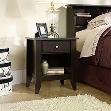 dressers bedroom furniture the home depot shoal creek 1 drawer jamocha wood nightstand