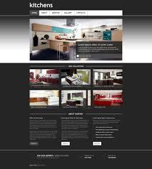 website template 45404 kitchens interior design custom website