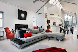 Living Room Design Ideas With Grey Sofa Dark Red Living Room 2017 And Grey White Pictures Brown Chairs