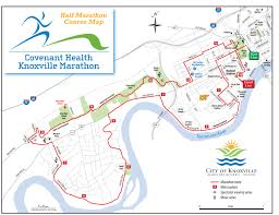 Neyland Stadium Map Knoxville Marathon This Weekend Expect Road Closures Wate 6 On