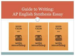 AP English Essay Examples Global Fusioning