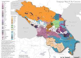 Show Map Of Europe by Language Map Of The Caucasus Europe