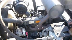 jacobsen lf3800 mower w 3033hours w kubota v1505 diesel engine
