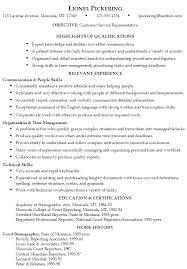 Example For Resume by Best Ideas Of Skills And Abilities For Resume Sample With