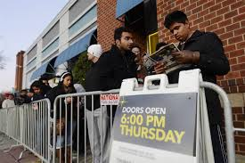 Thursday Thanksgiving Sales Early Start Hurts Black Friday Sales Cyber Monday Hits Record