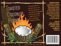 OBP to Release Third Beer, Toasted Coconut Porter by TheBeerSpot