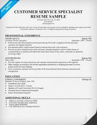 Good resume service manager