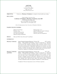 Oilfield Resume Objective Examples by Cvr Pharmacy Resume Cv Cover Letter