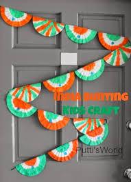 Kids Patriotic Craft   India Bunting