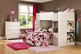 bedrooms for girls with bunk beds amazon com south shore complete loft bed logik sand castle