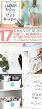 17 free printables to organize your laundry room free printable