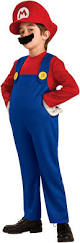Kids Halloween Costumes Usa Super Mario Bros Mario Deluxe Toddler Child Costume