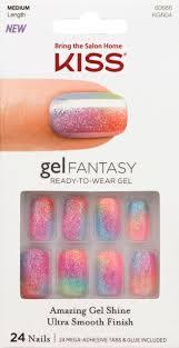 upc 731509606669 kiss gel fantasy nails charmed life kiss nail