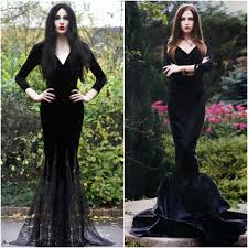 wicked witch of the west costume diy morticia addams adams family costume ideas fancy dress halloween