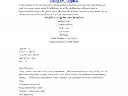 theatrical resume template beautiful inspiration beginner resume 11 sample actor resume download beginner resume