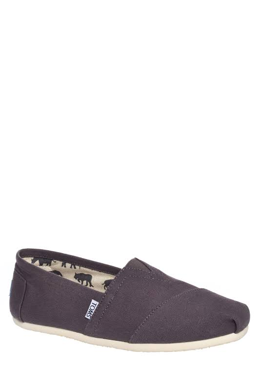 TOMS Classic Alpargata Slip-On Shoe, Adult,