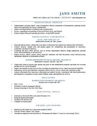 Examples Of Summaries On Resumes by Example Of Resume Junior Accountant Resume Example For High