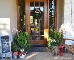 christmas decor around my house lilacs and longhornslilacs and