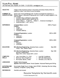 Free CV template   reed co uk Resume Experts best