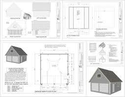 Garage And Shop Plans by Garage Sds Plans