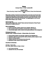 Sample Personal Trainer Resume by Resume Template Helpful Tips How Make A New Create Format 7 Ways