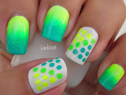 neon nails for a splash of color youne