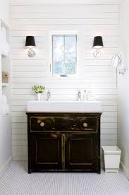 small farmhouse bathroom vanity small white trough sink with