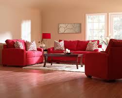 crafty design red living room set nice awesome contemporary