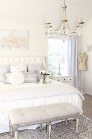 White Shabby Chic Chandelier by Best 25 Master Bedroom Chandelier Ideas On Pinterest Bedroom