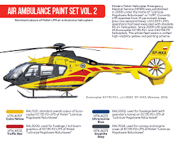 air ambulance hems paint set vol 2 hataka