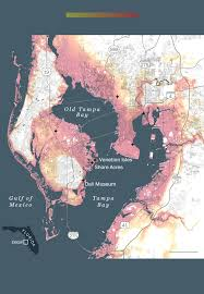 Map Of Clearwater Florida Sea Level Rise Could Destroy Tampa Bay If A Major Hurricane Hits