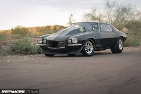 Fastest Muscle Car - small tires big blower a carbureted 7 second camaro speedhunters