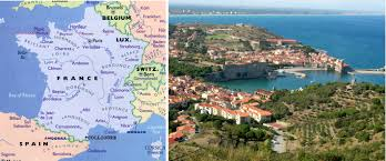 Map Of South Of France by France U2013 Collioure Travel With Pat And Lew