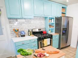 Painted Kitchen Ideas by Repainting Kitchen Cabinets Pictures Options Tips U0026 Ideas Hgtv