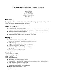 dental assistant resume example dental hygienist cover letter