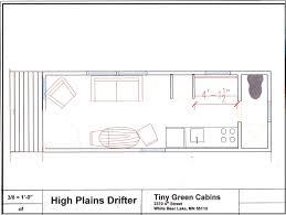 high plains drifter floor plan tiny green cabins