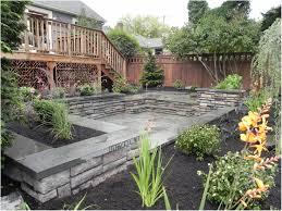 backyards terrific garden cool landscaping ideas landscape plan