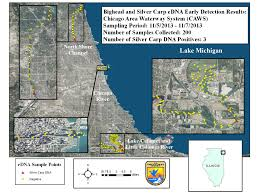 North Shore Chicago Map by Fish And Wildlife Service