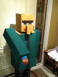 Halloween Minecraft Costume Zombie Pigman Coming Minecraft Costumes
