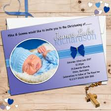 Invitation Cards Baptism Personalised Christening Invitations Personalised Baptism Cards